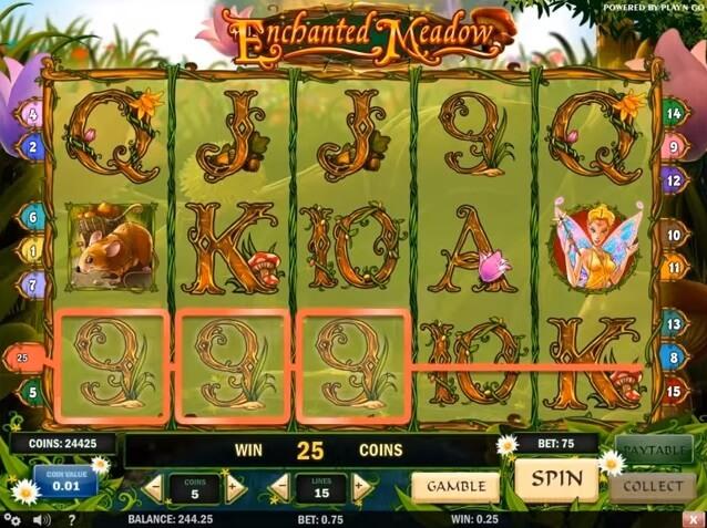 Slotspelet Enchanted Meadow från Play n Go