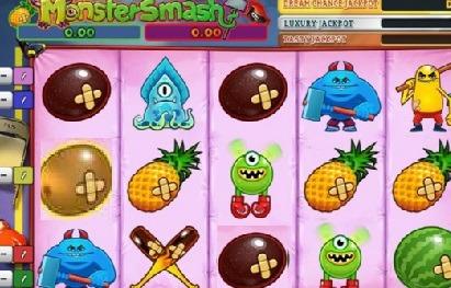 Monster Smash spel screenshot