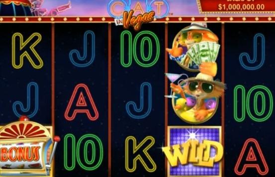 Cat in Vegas spelautomat