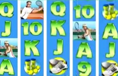 Videoslot Tennis Stars från Playtech