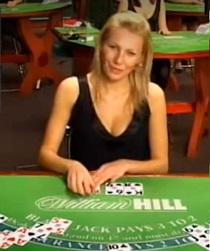 Играть блэкджек в лайв казино
