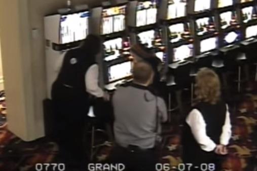 Casinofusk bevakningskamera