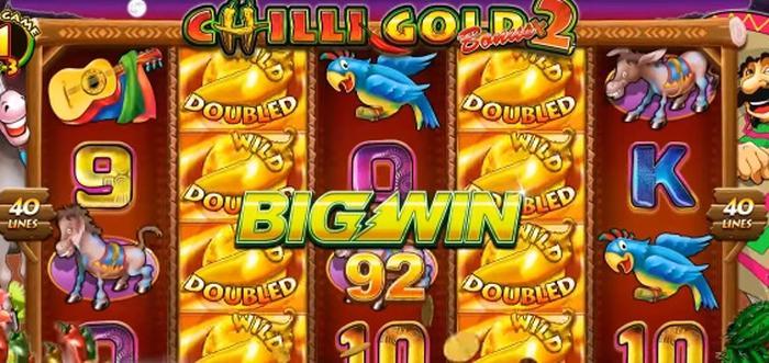 Chilli Gold 2 spelautomat från Lightning Box