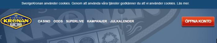 screenshot sverigekronan casino