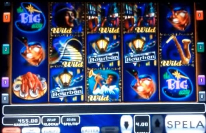 Jack Vegas slots automat Big Easy